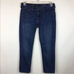 J. Crew Cropped Matchstick Ankle Jeans